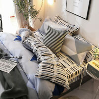 2019 Single/Doubl/Queen Size Bed Pillow/CasesDuvet/Doona/Quilt Cover Set Fitted