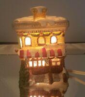 Vintage Christmas Bakery Porcelain Lighted House