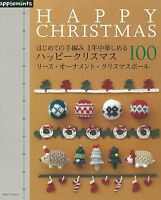 New Happy CROCHET Christmas and Winter 100 Japanese Craft Book Japan