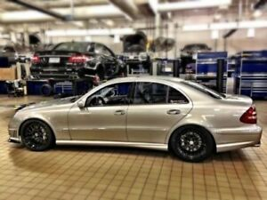 Mercedes w211 s211 AMG style side skirts e class