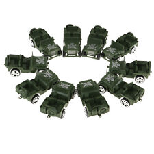 10pc Military Jeep Model for Soilder Men Action Figure Accessories