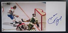 Marc Tardif Signed 4x8.5 Photo Autographed Montreal Canadiens NHL
