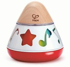 Hape Rotating Music Box Pre-School Young Children Wooden Toy Game Bn