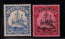 $German Col. Cameroun Sc#10 15 M/H/VF, part set, Cv. $27.25