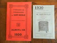 Katalog Gewerbe Forges Und Gießereien Von Weihnachtsmänner Ardennes Tarif 1930