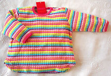 Gestreifte Baby-Pullover für Mädchen aus Baumwollmischung
