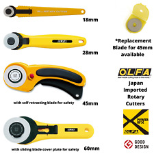 OLFA Japan Safety Rotary Cutter 45mm Knife Cutters Blade L Size