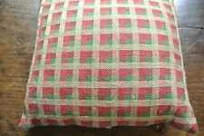 """12"""" Designer Fabric Cushion Cover including Feather & Down Insert - Hand Crafted"""