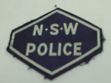New South Wales (NSW) Police Shoulder Patch Used.