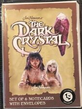 Loot Crate April 2018 The Dark Crystal Set Of 6 Notecards With Envelopes New