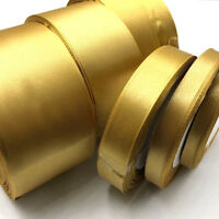 Gold Satin Ribbon Wedding Party Decoration Gift Wrapping Christmas ribbon 104
