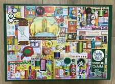 Cobble Hill Sewing Notions 1000 Piece Jigsaw Puzzle