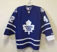 Vintage Toronto Maple Leafs Ryan Wellwood CCM NHL Hockey Jersey Youth Size Large