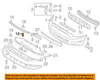 FORD OEM Radiator-Lower Seal AV6Z2021702B