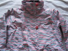 LADIES WOMENS SKI JACKET £180 TRESPASS MEDIUM CORAL STRIPE EXCELLENT CONDITION