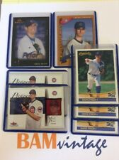 Mark Prior RC 1989 Topps Fleer Donruss Rookie 7 Baseball Card LOT Chicago Cubs