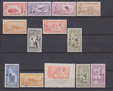 Falkland Islands 1952 MNH,Mint Mounted & Used to 5/-