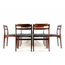 Set of 6 Retro Vintage Danish Rosewood Dining Chairs 60s 70s Mid Century Modern