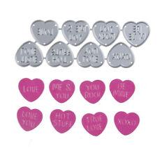 Love Hearts x 8 Metal  Die Cutter