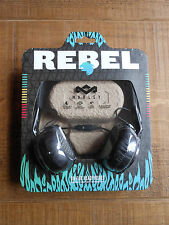 House of Marley Rebel On-Ear Wired Black Headphones. BRAND NEW