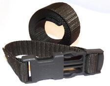 """Pack of 4 Black Plastic Webbing 1/"""" Nexus Side Release Buckle 25mm SR25"""