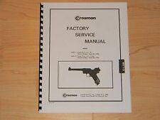 Crosman Mark I and Mark II Factory Service Manual - #C4