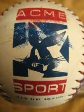 "Vintage Acme Sport Warner Bros ""Angry"" Bugs Bunny Red, White & Blue SP Softball"