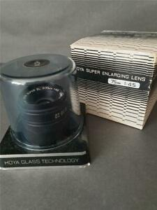BOXED HOYA 75mm 1:4.5 Enlarger Enlarging camera Lens - superb condition