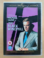 The Black Windmill DVD 1974 British Clive Egleton Spy Classic UK DVD