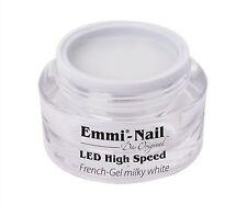Emmi-Nail LED High-Speed French Gel milky white 15ml  NEU!!