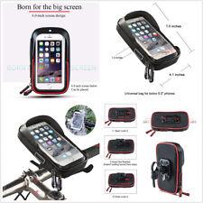 Waterproof TPU Touch Screen Motorcycle ATV Handlebar Holder Mount Cell Phone Bag