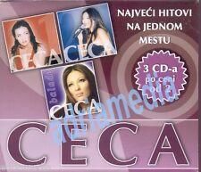 CECA 3 CD Box Svetlana Velickovic Balade 1&2 Hitovi Best Hit Folk Narodna Muzika