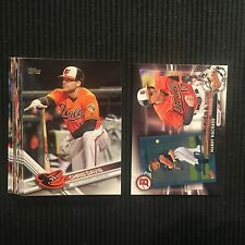 2017 TOPPS #1 BALTIMORE ORIOLES TEAM SET 13 CARDS WITH MANNY MACHADO INSERT +
