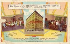 HOME OF THORNTON and MINOR CLINIC separate Men's and Women's Reception Rooms