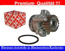 Wasserpumpe 1 x FEBI mit Dichtung-NEU-AUDI A1(8X1,8XA),A3,Sport,A4,A5,A6,Q3,Q5
