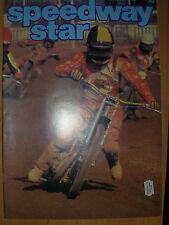 SPEEDWAY STAR MAGAZINE NOVEMBER 14 1981