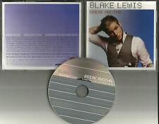 American Idol BLAKE LEWIS Break Anotha w/ RARE EDIT PROMO DJ CD single another