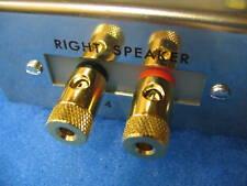 DYNACO Output/Speaker Jack Boards, ST70, MKIII, MKIV (Gold Plated Binding Posts)