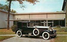 Postcard 1927 Isotta Fraschini Brougham - Automobile