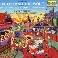 André Previn - Peter & the Wolf [New CD]