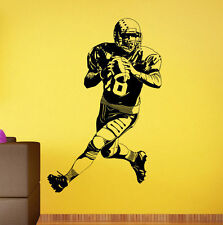 American Football Wall Decal Rugby Vinyl Sticker Sport Home Wall Art Decor 13af