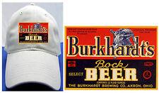 BURKHARDT BEER LABEL BALL CAP