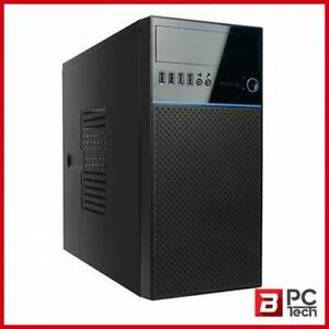 In win EN708 Mini Tower mATX Case - Black/Blue with 450w PSU