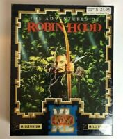 Vintage The Adventures Robin Hood CBM AMIGA Game PC Computers Sealed Rare Kixx