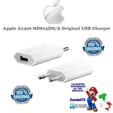 CARICABATTERIA APPLE A1400 MD813ZM/A ORIGINALE PER IPHONE 4 4S 5S 5C 6 6S 7 PLUS