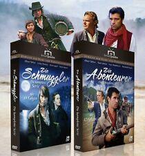 Die Schmuggler + Die Abenteurer - TV-Serien mit Oliver Tobias - Fernsjuwelen DVD