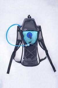 KIYOKI Hydration Pack with 2L Water Bladder Bag Waterproof BackpackBlack