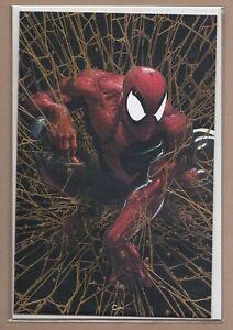 Spider-Man #1 Facsimile - (9.6/NM+) - Clayton Crain Gold Virgin Variant w/ COA