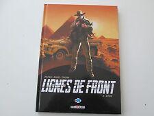 LIGNES DE FRONT T3 EO2014 TBE/TTBE LRDG EDITION ORIGINALE