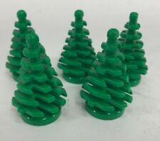 5 x LEGO PINE TREES Small Christmas Village Parts Pieces Bricks Decoration
